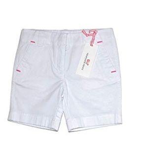 Girls vineyard vines white shorts
